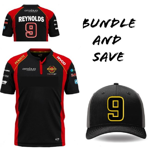 Mens Reynolds Polo and cap bundle